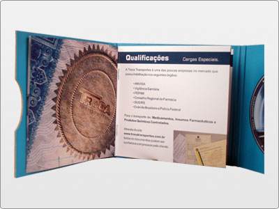 Troca Transportes, Impresso, Folder 03