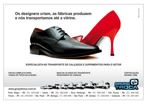Grupo Troca, anúncio, jornal