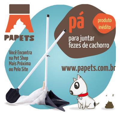 Papets, Anúncio, Jornal