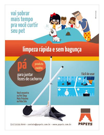 Papets, Anúncio, Revista