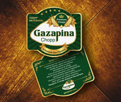 Gazapina, Bolacha de Chopp
