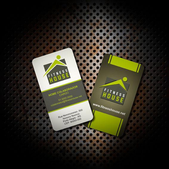 Fitness House, Cartão de Visita