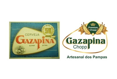 Gazapina, logotipo, modernização de logotipo