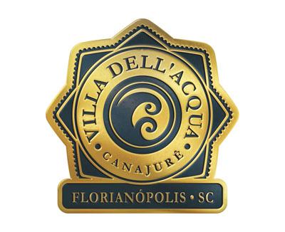 Logotipo, selo, Empreendimento Imobiliário Villa Dell'Acqua